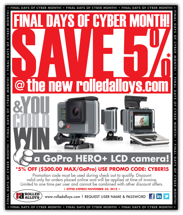 Cyber Month - Final Days!